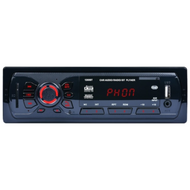 ITB 1260BT Mechless Single DIN Bluetooth Dual USB Car Radio