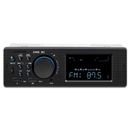 ITB SD3R6R Mechless Single DIN Bluetooth Dual USB Car Radio