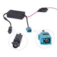 Direct Fit AL169 VW & Audi Amplified Fakra Aerial Adaptor