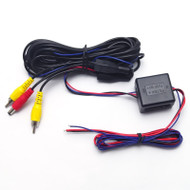 6m Car Camera Relay RCA Power For CANBUS Backup Camera