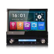 """In The Box SD6588K 7"""" Single DIN Radio With GPS Sat Nav"""