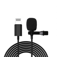 External Clip On Microphone for Lighting Connection iPhones