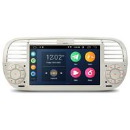 """UGE PSA7050FL_C 7"""" Android GPS Sat-Nav Radio For Fiat 500 White"""