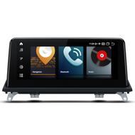 "UGE QB10X5CI 10.25"" Android Sat-Nav Radio For BMW X5 CIC"
