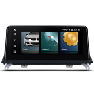 "UGE QCB10X5CC 10.25"" Android Sat-Nav Radio For BMW X5 X6 CCC"