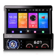 "PbA SD2790U 7"" Single DIN GPS Android 10.0 Wireless CarPlay"