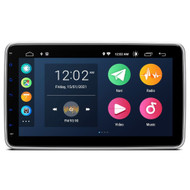 "UGE DSA110L Android 10.0 Quad-Core 10.1"" Single DIN GPS Radio"