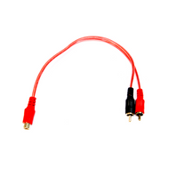 ICT-32.103 RCA Phono Cable Y Lead Female To 2 Male