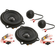 BLAM BMW and Mini dedicated 2-way 100 mm (4 inch) Components