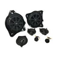 BLAM Mercedes Benz Complete Speaker Upgrade Fitting Kit (RHD)