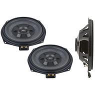 BLAM BMW 200mm (8 inch) Extra-Flat Under Seat subwoofers (PAIR)