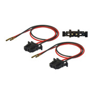 Speaker Cable Adapters Front For Mercedes A-Class, C-Class, CLK, E-Class