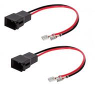 Speaker Cable Adapters For Renault, Seat, Vauxhall/Opel, Volkswagen
