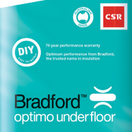 Optimo Underfloor - R2.1 X 565 * 1160 (75mm - 5.2m2 Pack)