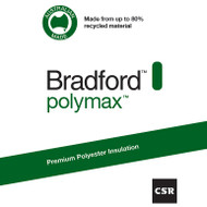 Polymax Ceiling Batts R3.0 - 1160 mm x 580 mm x 180 mm