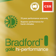 Gold High Performance Ceiling Batts - R6.0 - 580 x 1160 (260mm thick - 4.0m2/pack)