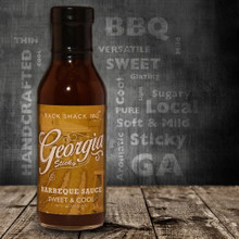 Georgia sticky is a sweet & cool sauce that is perfect for your Smoked Easter Ham. Use it as a sauce or glazing on smoked pork, poultry or fish.  Like the climate in Georgia our Georgia sticky sauce is soft and mild, sweet and versatile.