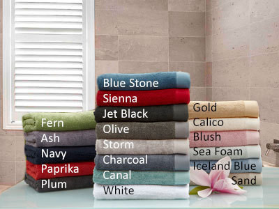 Baksana bath mats available in 17 colours inspired by nature.