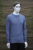 Infinity Blue Men's Long Sleeved Bamboo T-Shirt