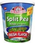 Dr. McDougall's Split Pea Barley Big Soup Cup (6x2.5 Oz)