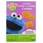 Earth's Best Sesame Street Oatmeal Cinnamon Cookies (6x5.3 Oz)