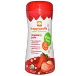 Happy Baby Strawberry Puffs (6x2.1Oz)