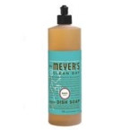 Meyers Basil Liquid Dish Soap (6x16 Oz)