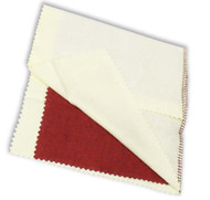 """ROUGE CLOTH, PROFESSIONAL 14"""" X 11.5"""""""" red/yellow (pack of 12)"""