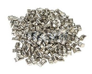 "Solder Pellets - Low Melt - Sq x .025"" .125"" x  .125"" 300F"
