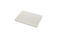 "Honeycomb Design Ceramic Soldering Block 51/2"" x 73/4"" x 1/2"""