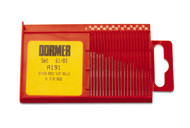 Drill Set, Dormer Brand, 20 pcs., Sizes 61 to 80