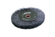 "Heavy Steel Wire Brush, 6"" Diameter"