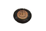 "Wood Hub Brush, 1 Row of Bristle, 3-1/8"" Overall Diameter (pack of 1)"