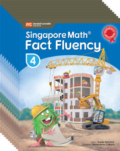 Singapore Math® Fact Fluency - Grade 4 (10 Pack of the same book)