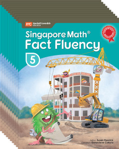 Singapore Math® Fact Fluency - Grade 5 (10 Pack of the same book)