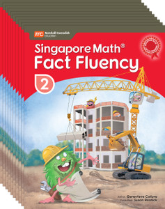 Singapore Math® Fact Fluency - Grade 2 (10 Pack of the same book)