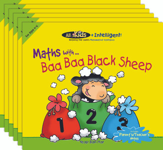 Maths with...Baa Baa Black Sheep (6 Pack)