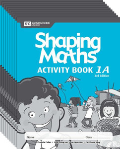 Shaping Maths: Activity Book Grade 1A (10 Pack)
