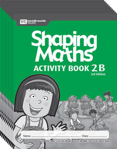 Shaping Maths: Activity Book Grade 2B (10 Pack)