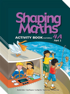 Shaping Maths: Activity Book Grade 4A (10 Pack)