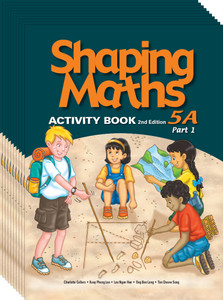 Shaping Maths: Activity Book Grade 5A Part 1 (10 Pack)