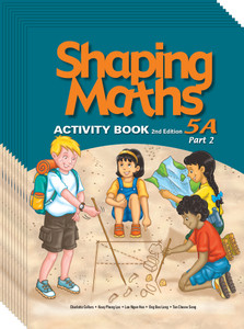 Shaping Maths: Activity Book Grade 5A Part 2 (10 Pack)