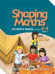 Shaping Maths: Activity Book Grade 6A Part 2 (10 Pack)