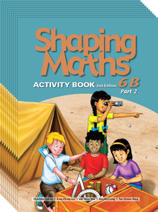 Shaping Maths: Activity Book Grade 6B Part 2 (10 Pack)