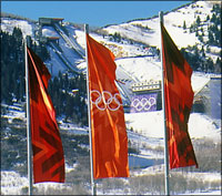 Olympic Flagpoles