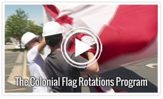Flag Rotation Video