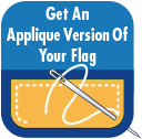 Get and Applique Version of Your Flag