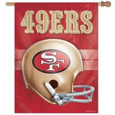 NFL San Francisco 49ers - 27 in. x 37 in. Vertical Hanging Flag