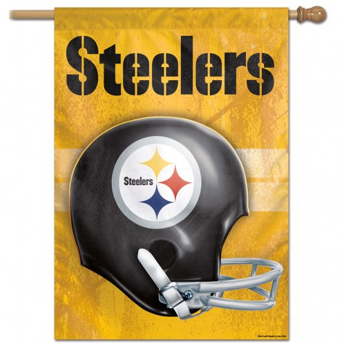 f7fb97d8 NFL Pittsburgh Steelers - 27 in. x 37 in. Vertical Hanging Flag