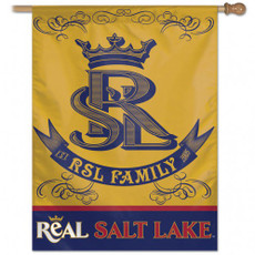 MLS Real Salt Lake  - 27 in. x 37 in. Vertical Hanging Flag
